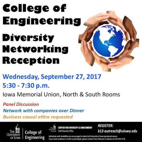 Diversity Networking Reception promotional image