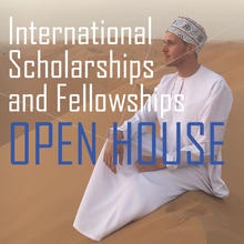 International Scholarship/Fellowship Open House promotional image